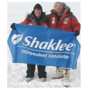 For anyone who questions Shaklee's commitment to the planet. Will Steger, renowned polar explorer (pictured with Richard Branson), whose polar expeditions have been fueled by Shaklee nutrition for decades.